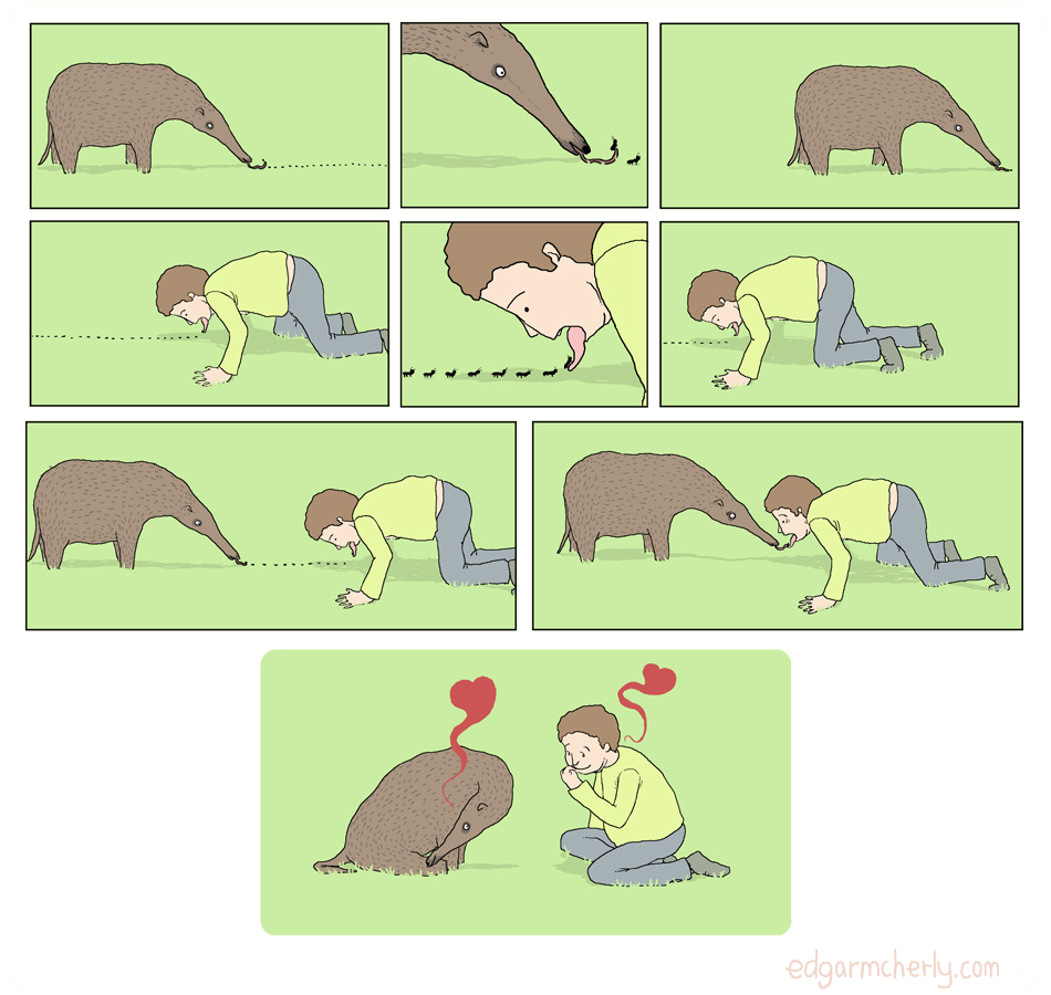 the anteater comic