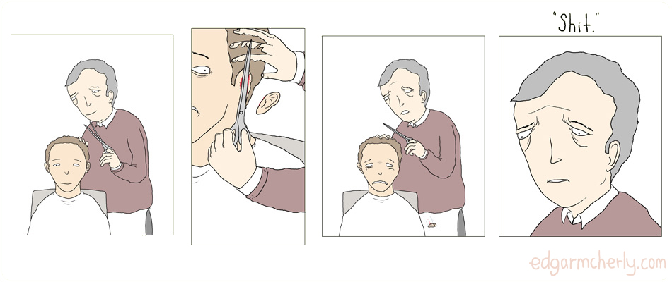 the barber comic